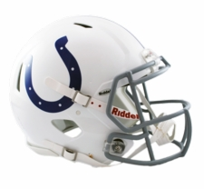 Indianapolis Colts Revolution Speed Riddell Authentic Helmet