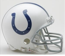 Indianapolis Colts Riddell Replica Mini Helmet