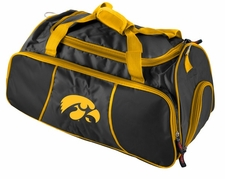Iowa Hawkeyes Athletic Duffel Bag