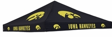 Iowa Hawkeyes Black Logo Tent Replacement Canopy