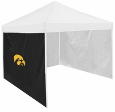 Iowa Hawkeyes Black Side Panel for Logo Tents