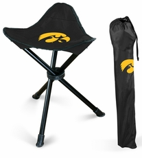 Iowa Hawkeyes Folding Stool