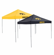 Iowa Hawkeyes Home / Away Reversible Logo Tailgate Tent