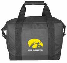 Iowa Hawkeyes Kolder 12 Pack Cooler Bag