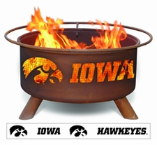 Iowa Hawkeyes Outdoor Fire Pit