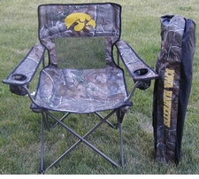 Iowa Hawkeyes Reatree Camo Mesh Chair