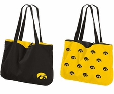 Iowa Hawkeyes Reversible Tote Bag