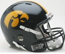 Iowa Hawkeyes Riddell Revolution Authentic Helmet