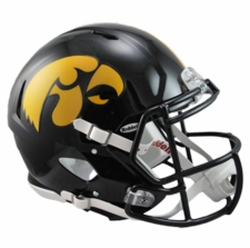 Iowa Hawkeyes Riddell Revolution Speed Authentic Helmet
