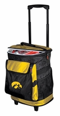 Iowa Hawkeyes Rolling Cooler