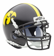 Iowa Hawkeyes Schutt Authentic Mini Helmet