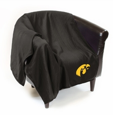 Iowa Hawkeyes Sweatshirt Throw Blanket