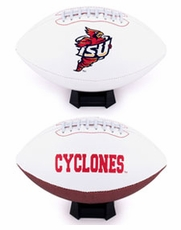 Iowa State Cyclones Full Size Signature Embroidered Football