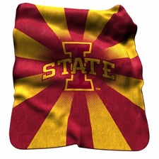 Iowa State Cyclones Raschel Throw