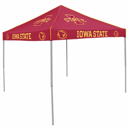 Iowa State Cyclones Red Logo Canopy Tailgate Tent