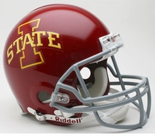 Iowa State Cyclones Riddell Pro Line Authentic Helmet