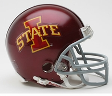 Iowa State Cyclones Riddell Replica Mini Helmet