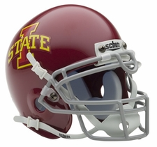Iowa State Cyclones Schutt Authentic Mini Helmet