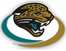 Jacksonville Jaguars 12 x 12 Die-Cut Window Film Decal