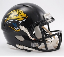 Jacksonville Jaguars 1995-2012 Speed Mini Helmet