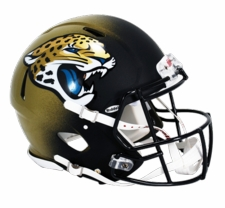 Jacksonville Jaguars 2013 Revolution Speed Riddell Authentic Helmet