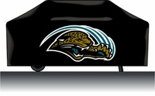 Jacksonville Jaguars Deluxe Barbeque Grill Cover