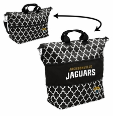 Jacksonville Jaguars  - Expandable Tote (patterned)