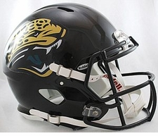 Jacksonville Jaguars Throwback Revolution Speed Riddell Authentic Helmet
