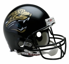 Jacksonville Jaguars Throwback Riddell Full Size Authentic Helmet