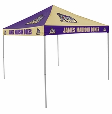 James Madison Dukes Checkerboard Canopy