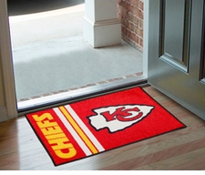 "Kansas City Chiefs 20""x30"" Uniform-Inspired Floor Mat"