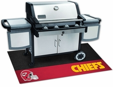 Kansas City Chiefs 26x42 Grill Mat