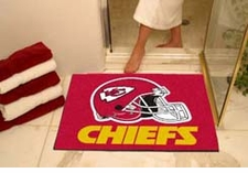 "Kansas City Chiefs 34""x45"" All-Star Floor Mat"