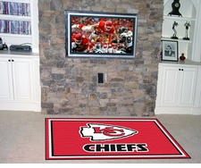 Kansas City Chiefs 4'x6' Floor Rug