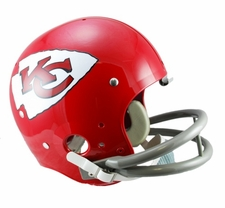 Kansas City Chiefs Classic TK 1963-73 Throwback Riddell Replica Helmet