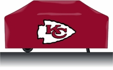 Kansas City Chiefs Deluxe Barbeque Grill Cover