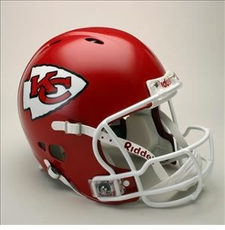 Kansas City Chiefs Full Size Riddell Revolution NFL Helmet