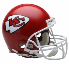 Kansas City Chiefs Riddell Full Size Authentic Helmet