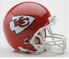 Kansas City Chiefs Riddell Replica Mini Helmet