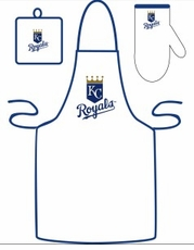 Kansas City Royals Cooking / Grilling Apron Set