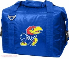 Kansas Jayhawks 12 Pack Small Cooler