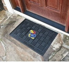 Kansas Jayhawks 19x30 Medallion Door Mat