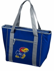 Kansas Jayhawks 30 Can Cooler Tote