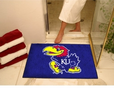 "Kansas Jayhawks 34""x45"" All-Star Floor Mat"