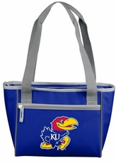 Kansas Jayhawks 8 Can Cooler Tote