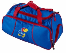 Kansas Jayhawks Athletic Duffel Bag