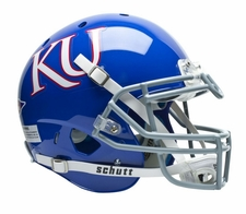 Kansas Jayhawks Blue Schutt XP Authentic Helmet