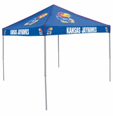 Kansas Jayhawks Colored Logo Canopy Tailgate Tent