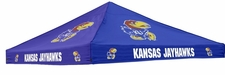Kansas Jayhawks Colored Logo Tent Replacement Canopy