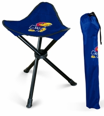 Kansas Jayhawks Folding Stool